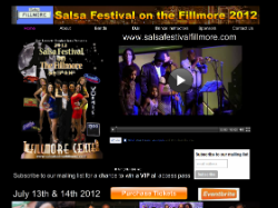 Salsa Festival On The Fillmore